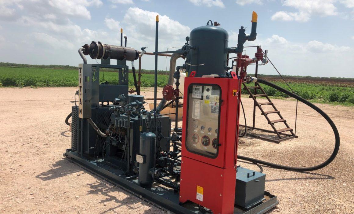Titan-Flex Well Head Gas Compressor
